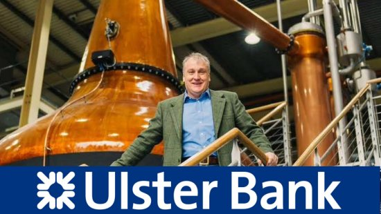 Mark Reynier of Irish company Renegade Spirits secures €20m funding from Ulster Bank for whisky production at their Waterford distillery.